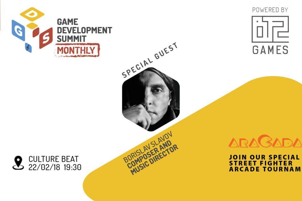 Специален гост на Game Dev Summit Monthly #4 e композиторът Борислав Славов