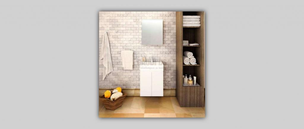 Евтини мебели за баня от Гауди